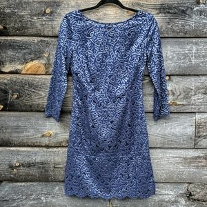 Lilly Pulitzer Navy Blue Lace Dress